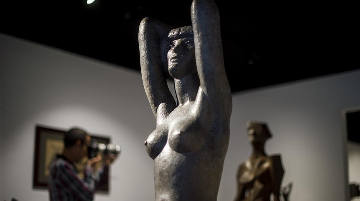Claudia Chauchat (1949), una de las esculturas de la etapa noucentista de Subirachs.