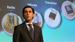 José María Álvarez-Pallete, presidente de Telefónica, en una imagen de archivo.