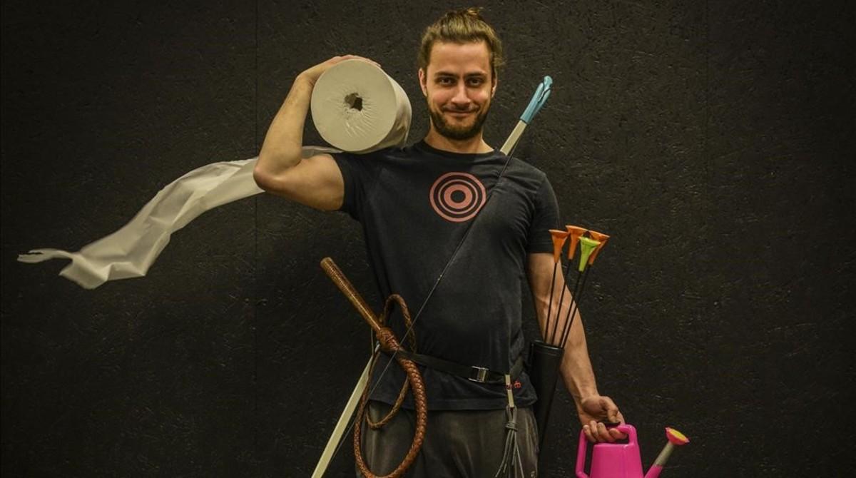 Imagen promocional de Breaking point, granespectáculo de circo de la compañía sueca Weibel Weibel.
