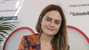 La joven escritora catalanaMaria Guasch.