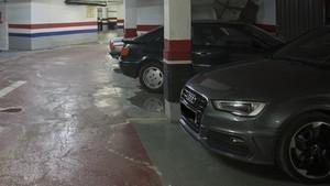 Imagen de archivo de un parking.