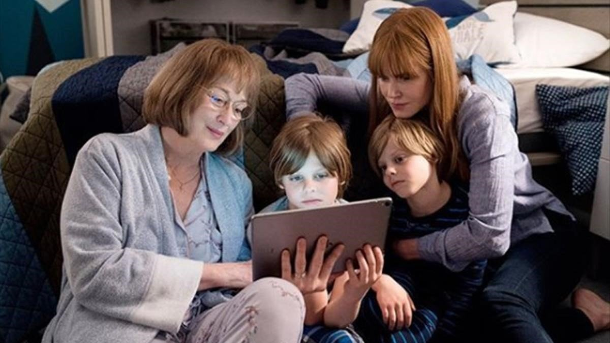 Meryl Streep y Nicole Kidman, en la segunda temporada de la serie 'Big Little Lies'.