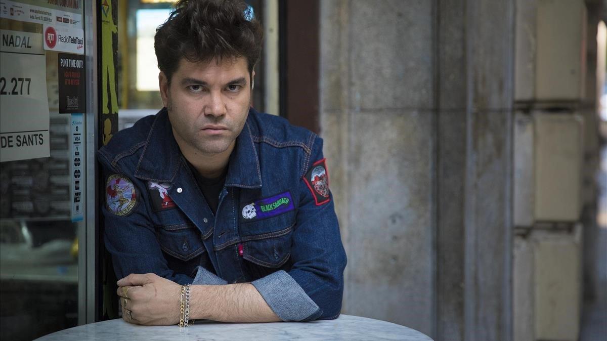 El cantante barcelonés Joe Crepúsculo.