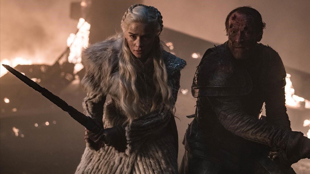 Imagen de la gran batalla del tercer episodio de 'Juego de tronos'.