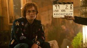 Taron Egerton, en su papel como Elton John en 'Rocketman'.