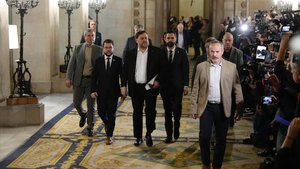 Els presos donen un dia de treva al sobiranisme