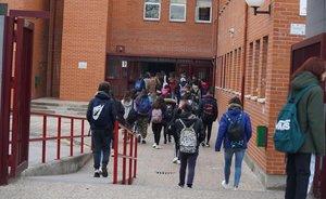 Coronavirus: inquietud entre les famílies madrilenyes i el professorat