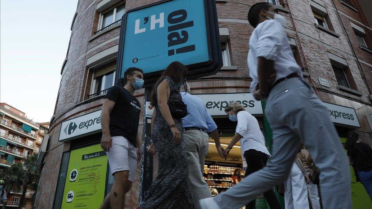 L'Hospitalet té 21.000 persones per km quadrat, cosa que podria haver afavorit el brot