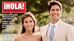 lmmarco41286821 gente portada de la revista hola boda de ana boyer y fer171212142817