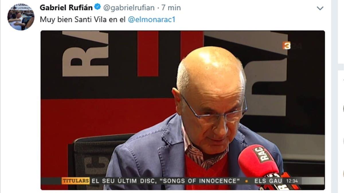 GABRIEL RUFIAN TWITTER