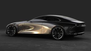 Mazda ha creado un cupé de cuatro puertas.