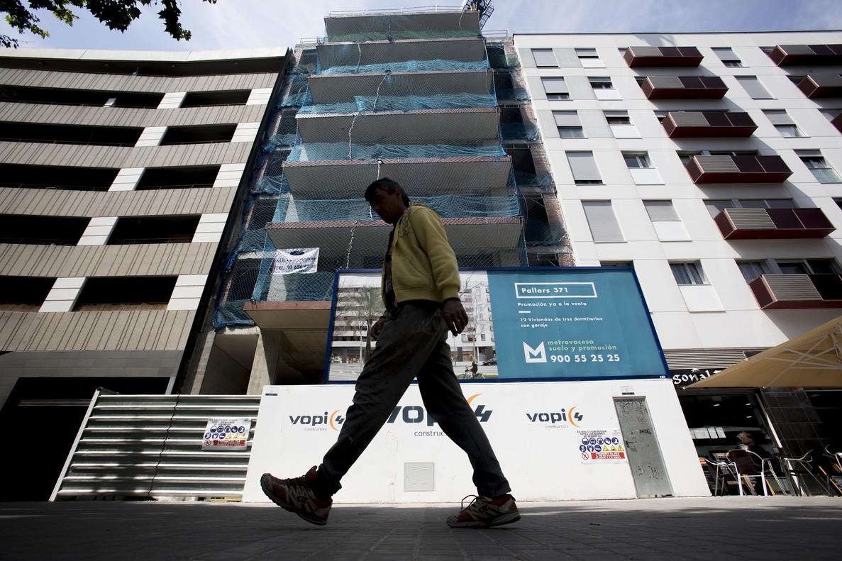 Pisos en venta de obra nueva en Barcelona.