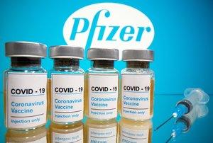 """Pfizer afirma que su vacuna contra el covid-19 es """"eficaz en un 90%"""""""