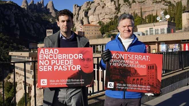 Miguel Hurtado demana la dimissió del pare abat: «Qui encobreix l'abús no aclarirà els fets»