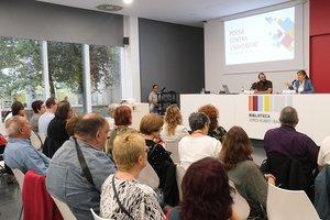 Acto central del Día Mundial de la Salud Mental 2019 en Sant Boi de Llobregat.