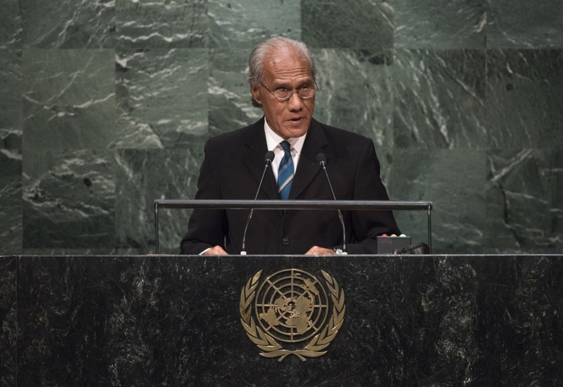 Pohiva, de 78 años,había sido un defensor de la democracia y activista por la acción sobre el cambio climático.