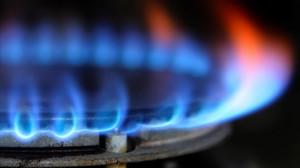 Quemador de gas de una cocina.