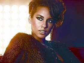 La diva del soul Alicia Keys, que forma parte del catálogo de EMI.