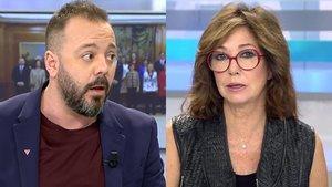 Antonio Maestre acusa a Ana Rosa de haberle vetado y la productora responde