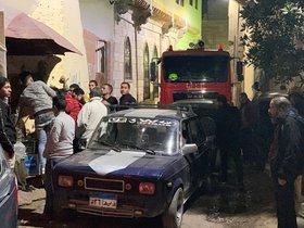 Un ataque suicida cerca de la mezquita deAl-Azhar en El Cairo. EFE