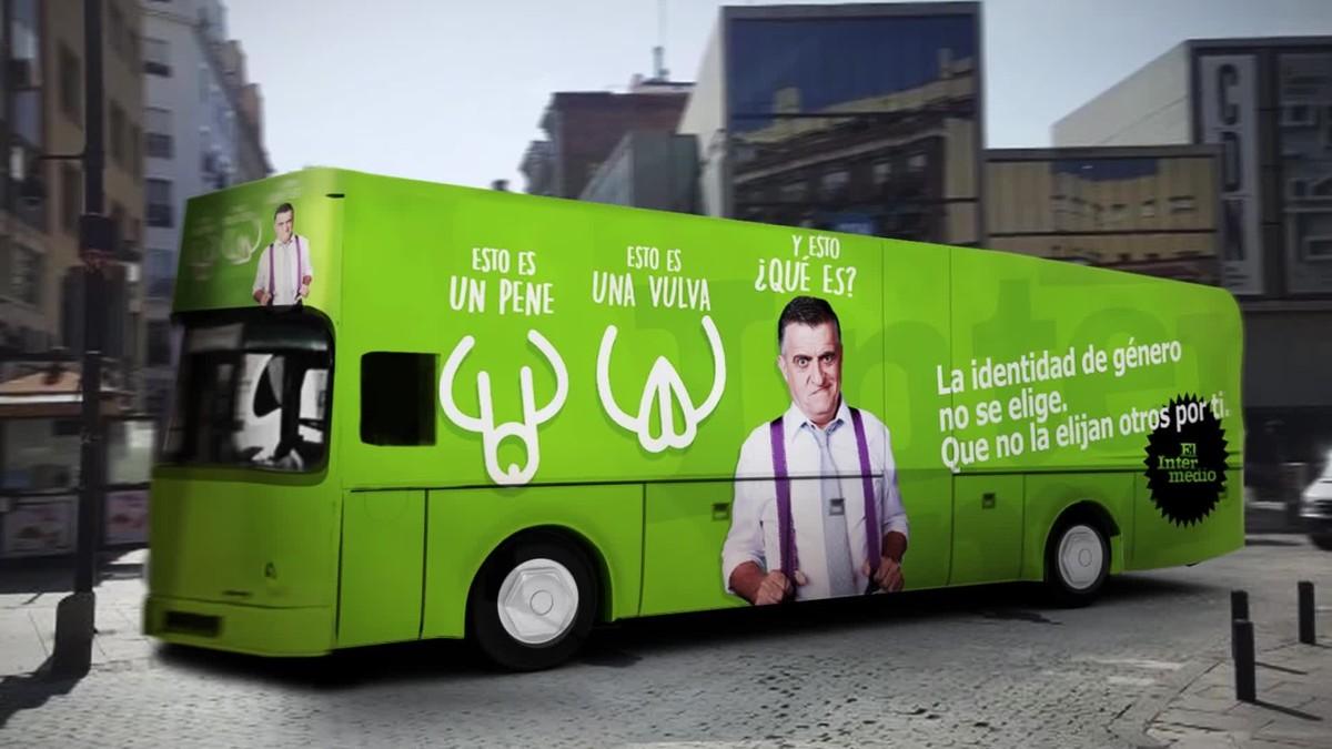 El autobús de la libertad de El intermedio.