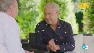 Bertín Osborne con Jorge Javier Vázquez en 'Mi casa es la tuya'.