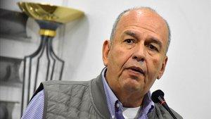 EL ministro del Gobierno interino de Bolivia, Arturo Murillo, este pasado 26 de diciembre