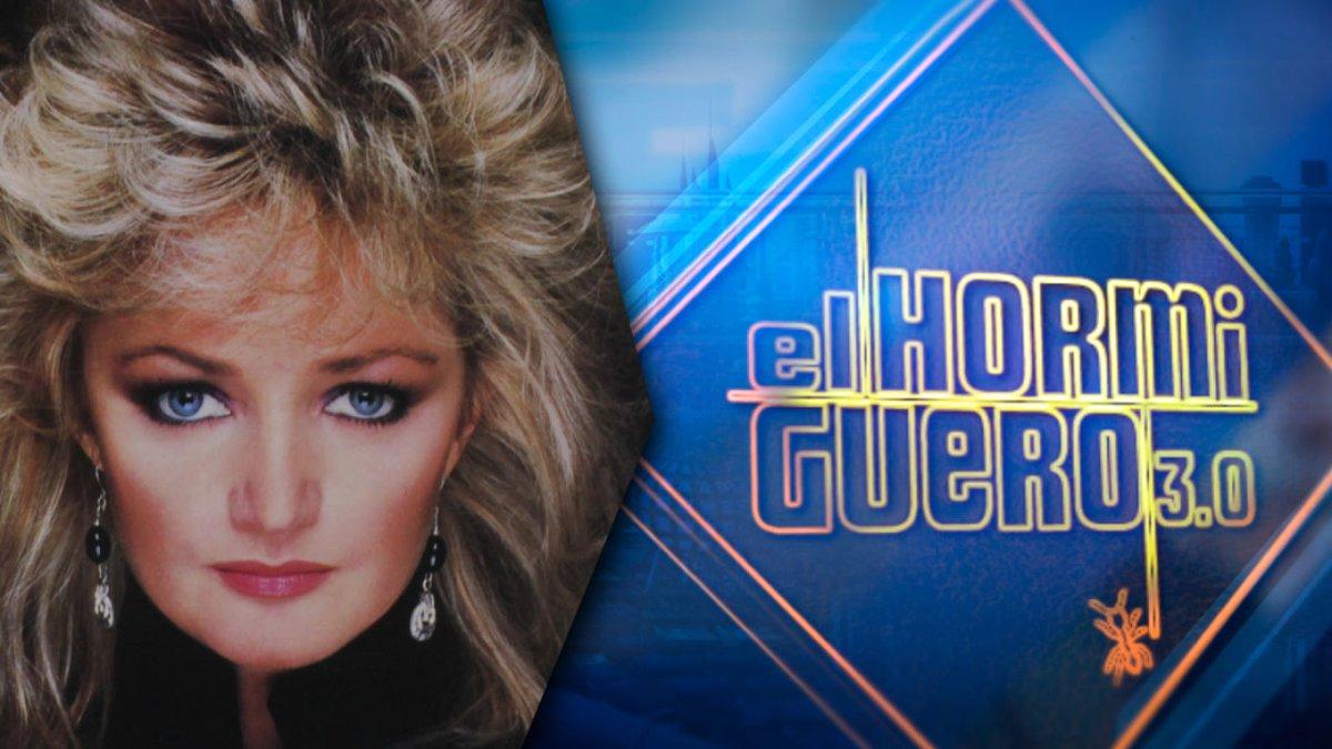 Bonnie Tyler, la próxima invitada de 'El hormiguero'.