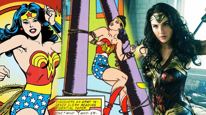 Cadenas, bondage y sumisión: el origen de Wonder Woman no es cómo creías.