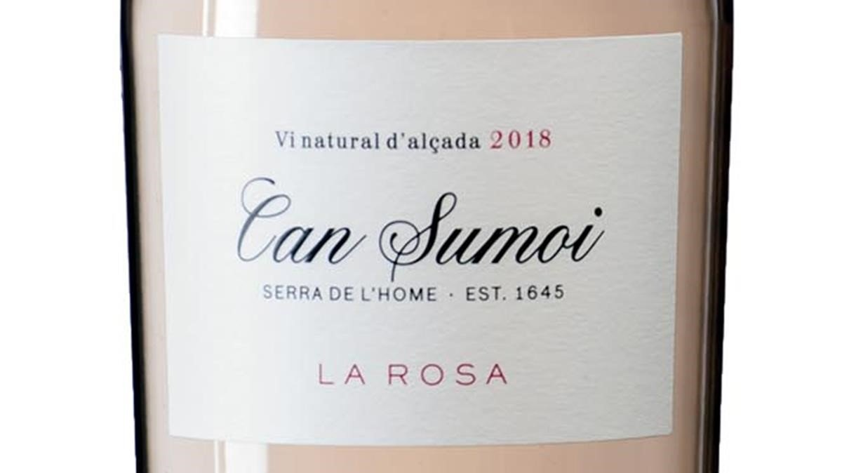 Can Sumoi La Rosa 2018, rosado natural