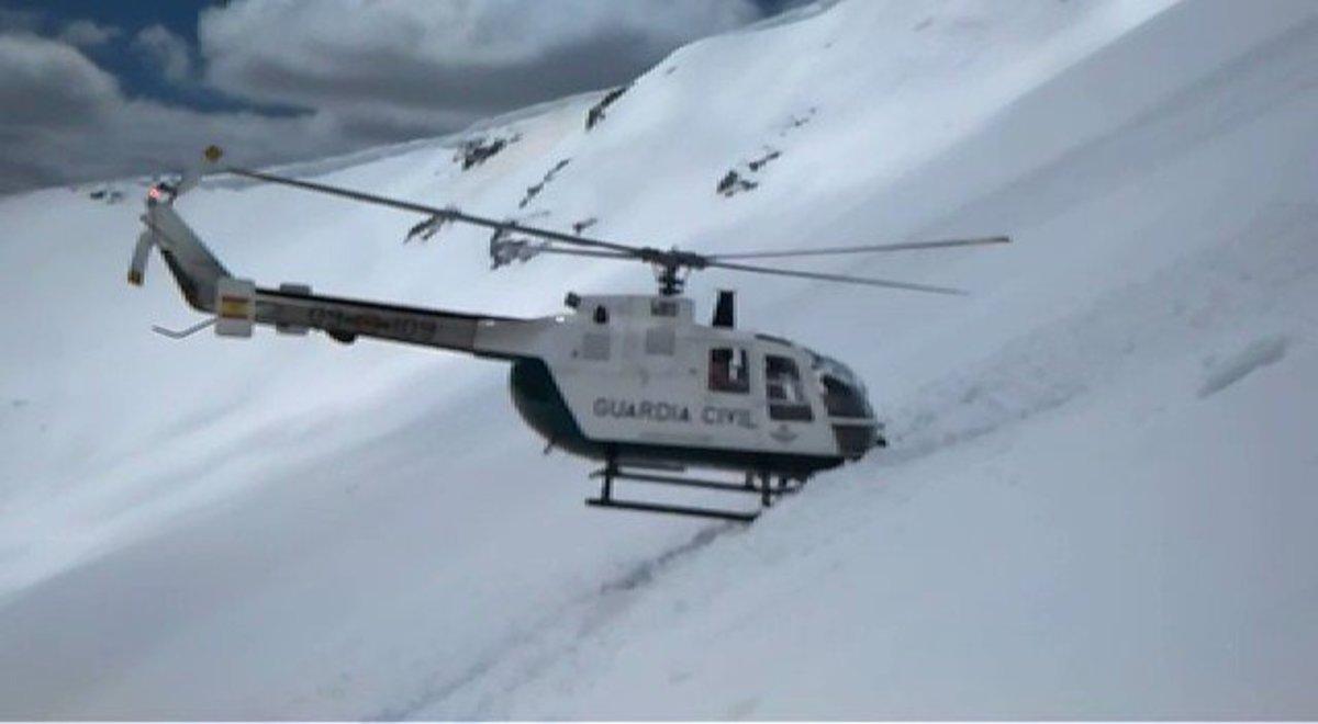 Vídeo | La Guardia Civil también hace rescates espectaculares como el viral de los Alpes franceses