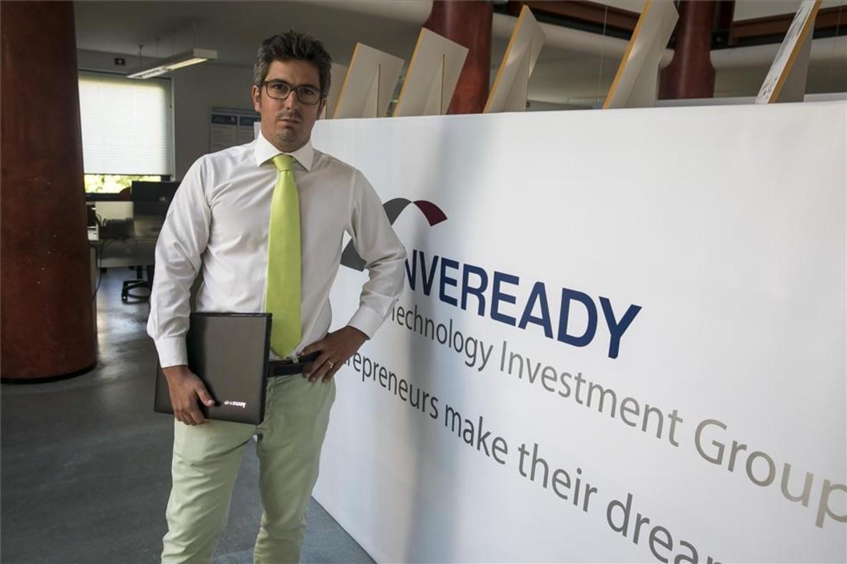 Carlos Conti, consejero delegado de la sociedad de capital riesgo dentro de la gestora de Inveready.