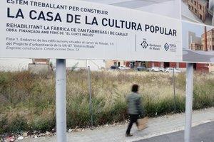 L'Ajuntament de Mataró habilita un aparcament al lloc on hi havia d'anar la Casa de la Cultura Popular