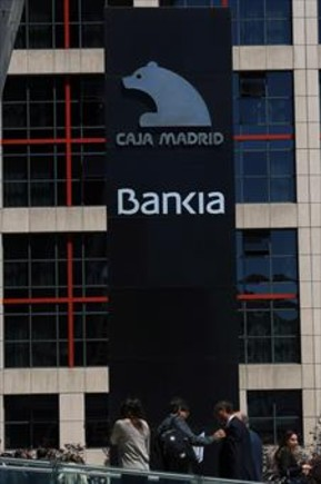 La central de Bankia, en Madrid.