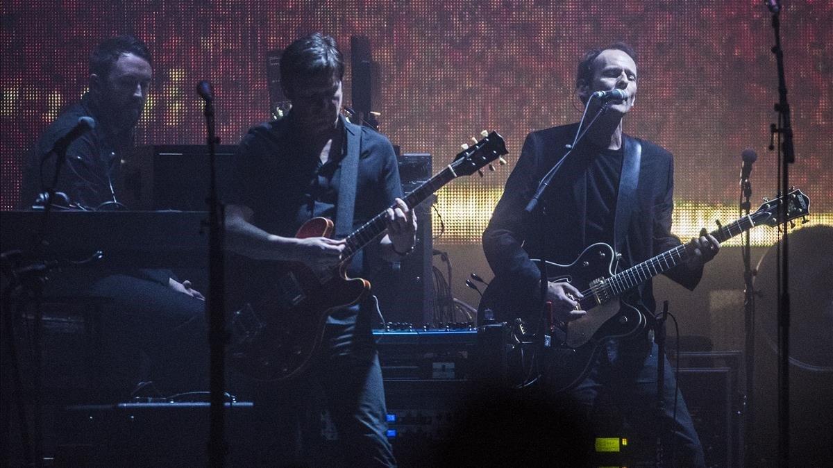Concierto de Massive Attack en el Sant Jordi Club.