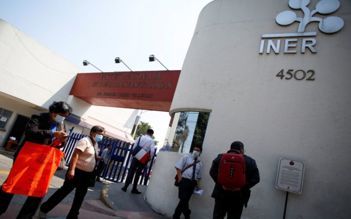 Un hospital especializado en enfermedades respiratorias en México.