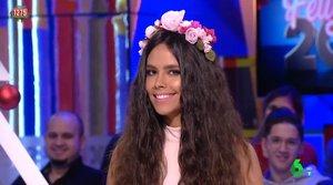 """Cristina Pedroche reivindica el mensaje de su vestido de las Campanadas: """"Es una oda a la naturaleza"""""""