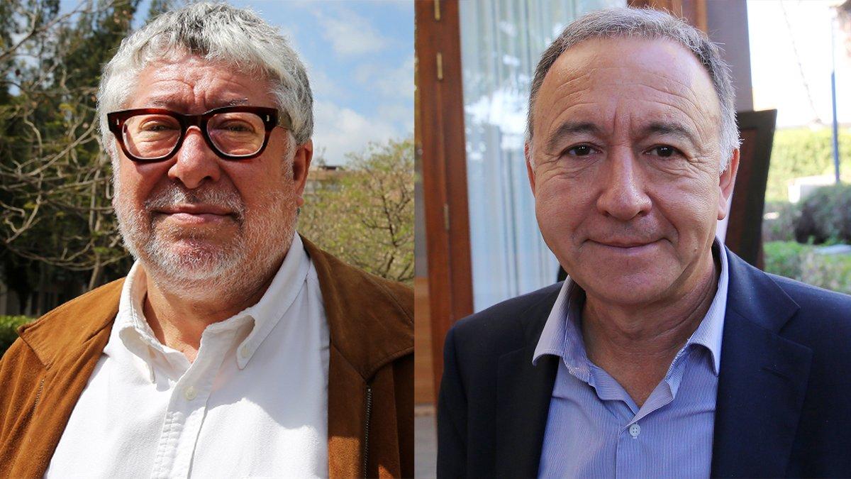 Antonio Balmón y Antoni Poveda.