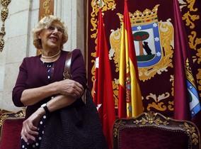 La alcaldesa de Madrid, Manuela Carmena, llega al ecuador de su mandato.