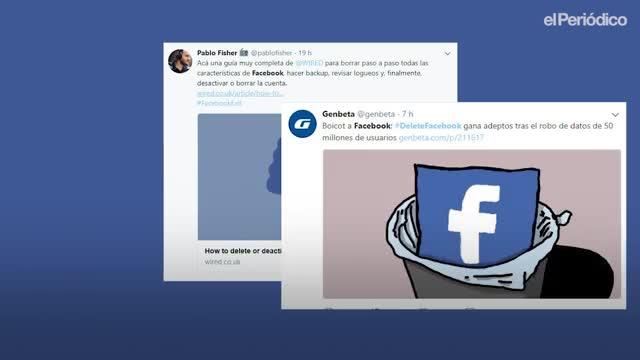 Els problemes per esborrar-se de Facebook