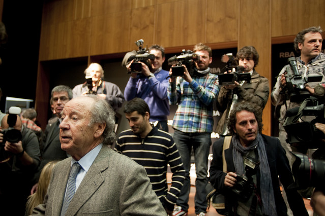 El empresario Josep Lluís Nuñez, en enero del 2013.