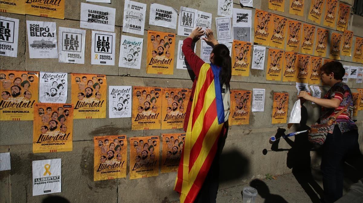 Las entidades soberanistas llenan la semana de movilizaciones por los presos