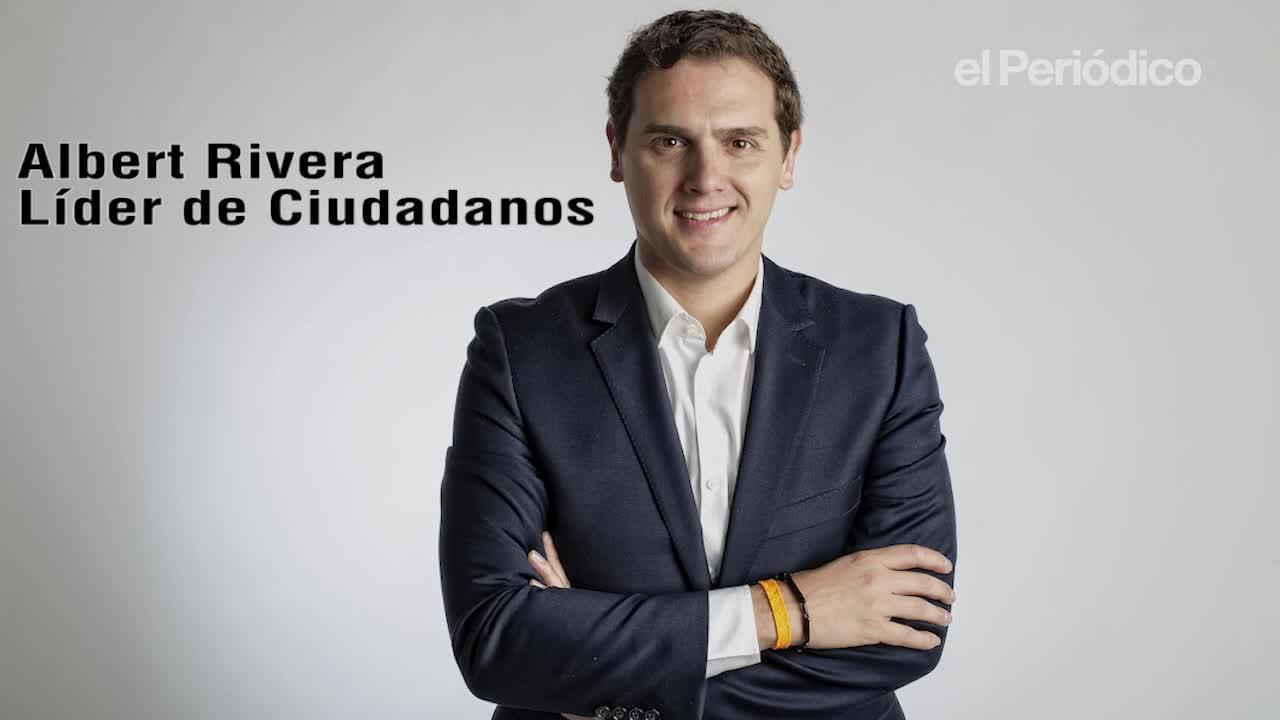 Entrevista a Albert Rivera, líder de Ciudadanos.
