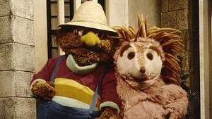 Espinete (a la derecha) acompañado de su inseparable amigo Don Pimpón