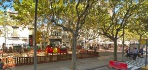 Aprovada la reordenació de la plaça de Santa Magdalena d'Esplugues