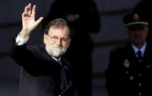 El expresidente Mariano Rajoy, en una imagen del pasado diciembre.