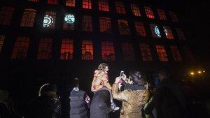 Una imagen de archivo de la fábrica de los Reyes, en la Fabra i Coats.