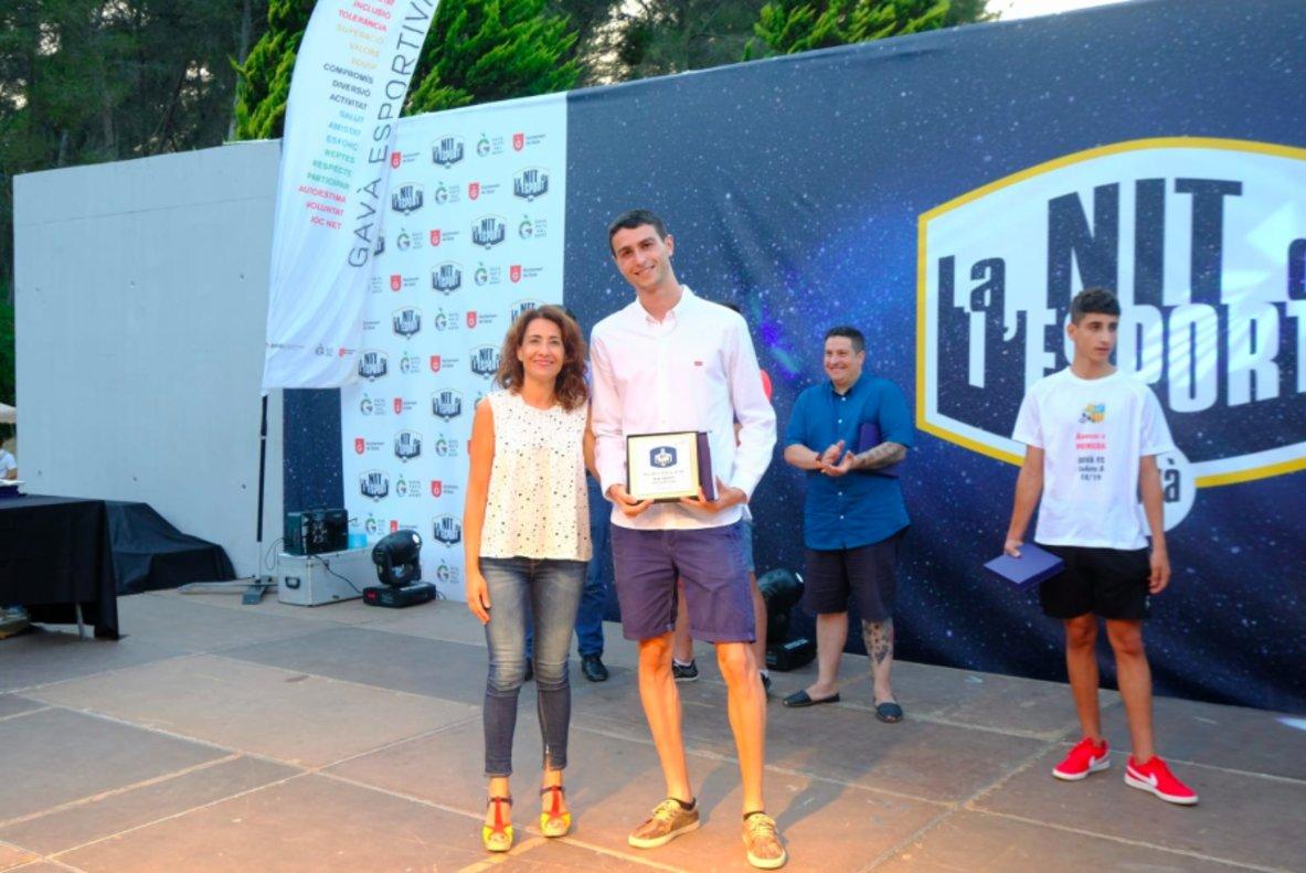 L'atleta Miquel Domènech, escollit esportista de l'any de Gavà