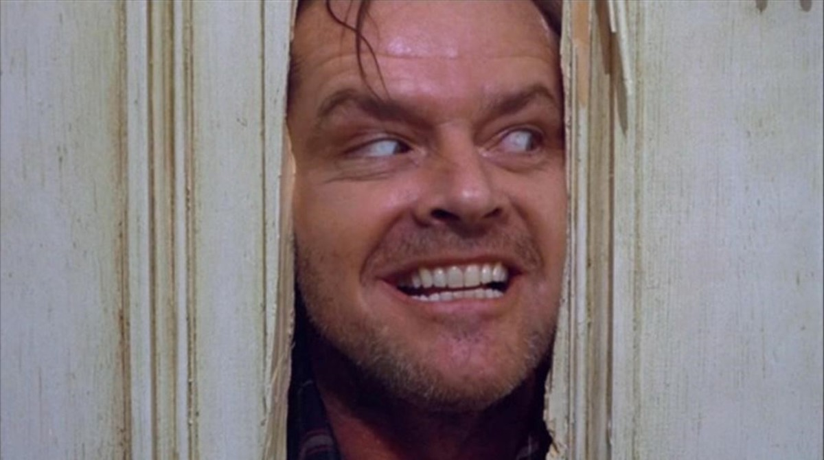 Un Jack Nicholson psicopático para infundir miedo.