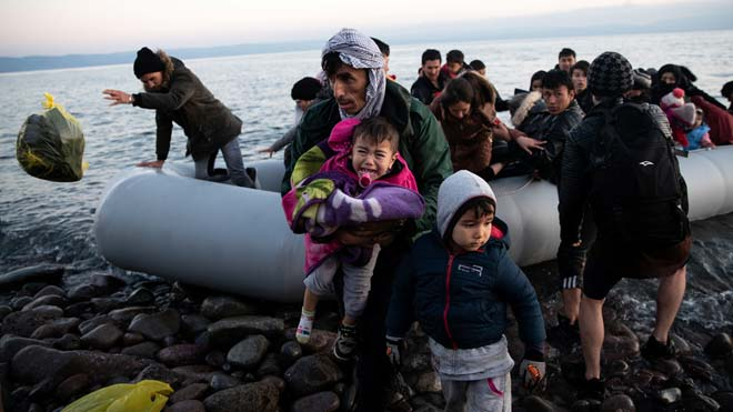 Grècia, la vergonya dels refugiats